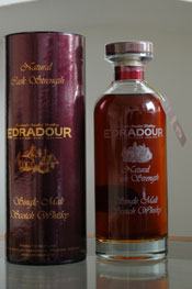 Edradour 13 year old natural Cask Strength