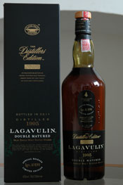 Lagavulin Distillers Edition 1995